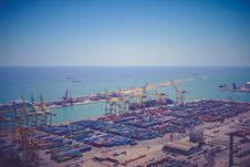 Free Intermodal Container Port During Daytime Stock Photography - 82997402