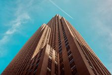 Free Skyscrapers Against Blue Skies Royalty Free Stock Photo - 82997495