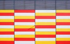 Free Gray Red Yellow And White Textike Stock Photo - 82997520