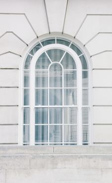 Free White Framed Glass Window Stock Images - 82997864