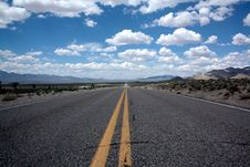 Free Black Top Road Under Clear Blue Cloudy Sky Stock Photo - 82998590