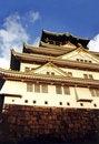 Free Osaka Castle Stock Image - 830271