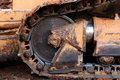 Free Bulldozer Tread 2 Royalty Free Stock Images - 831929