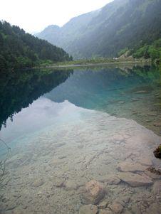 Free A Blue Lake Stock Image - 830361
