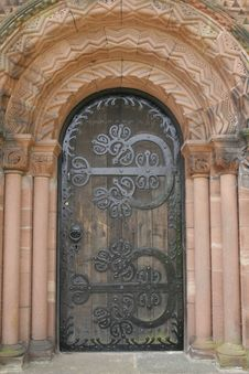 Free Church Door Royalty Free Stock Images - 830749