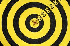 Free Bullseye Royalty Free Stock Photography - 831647