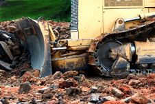 Free Earth Mover Royalty Free Stock Image - 831926