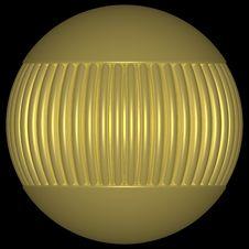 Free Gold Globe 3 Stock Images - 832104