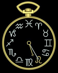 Free Zodiac Leo Clock Stock Photography - 832122