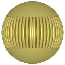 Free Gold Globe 4 Royalty Free Stock Photos - 832138
