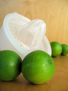 Free Lime Squeeze 1 Royalty Free Stock Image - 832196