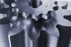 Free Bluish Mechanical Ideas Stock Image - 832251
