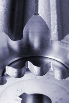 Free Mechanical Parts Close-up Royalty Free Stock Photo - 832305