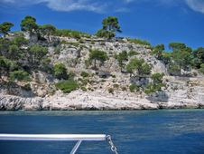 Free French Riviera Coastline Royalty Free Stock Images - 832949