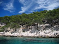 Free French Riviera Coastline Stock Images - 832984