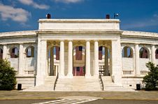 Arlington Cemetery Amphitheater Royalty Free Stock Images