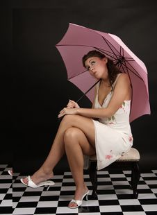 Free Pink Umbrella Stock Photos - 833493