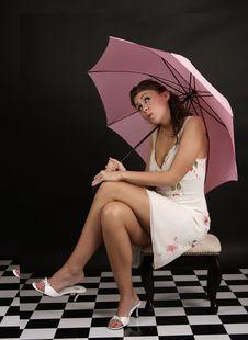 Free Pink Umbrella Stock Photos - 833493
