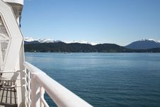Cruise Alaska Stock Image