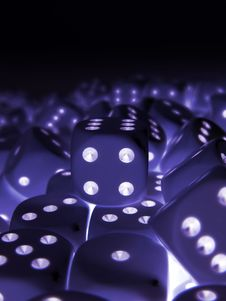 Free Dice Royalty Free Stock Photo - 834895