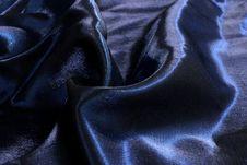 Blue Silk Royalty Free Stock Photo