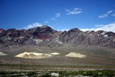 Free Death Valley Scene Royalty Free Stock Images - 835899
