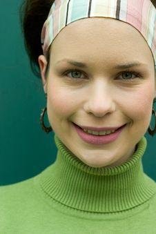 Free Pretty In Green Stock Image - 836041