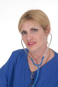 Free Beautiful Doctor Or Nurse 16 Stock Photos - 836483