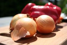 Free Onions And Paprica Stock Photos - 837623