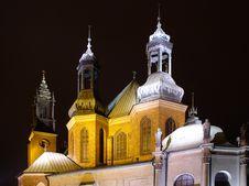 Free Church At Night Stock Photo - 837720