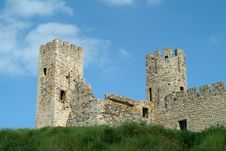 Free Very Old Towers Of Castle Stock Image - 837851