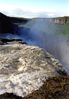 Free Gulfoss Royalty Free Stock Photos - 839698