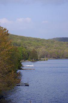 Lake Shoreline Royalty Free Stock Photo