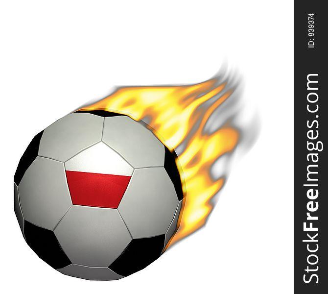 World Cup Soccer/Football - Poland on Fire