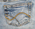Free Jeans Hip Pocket Royalty Free Stock Photos - 8304648