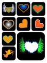 Free Different Kinds Of Heart Shape Stock Photos - 8308803