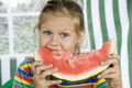 Free Girl With Watermelon Royalty Free Stock Photography - 8309687