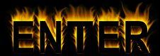 Free Enter Stock Image - 8300541