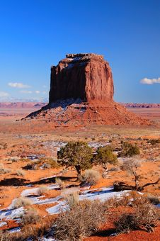 Free Monument Valley Merrick Butte Royalty Free Stock Photo - 8300755