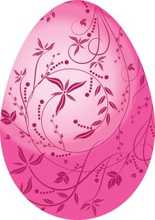 Free Pink Egg Royalty Free Stock Image - 8301396