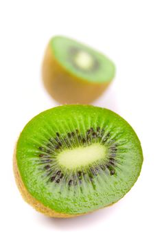 Free Kiwi Halves Royalty Free Stock Photos - 8301678