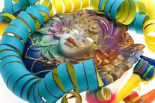 Carnival, Mask Venetian Royalty Free Stock Photo