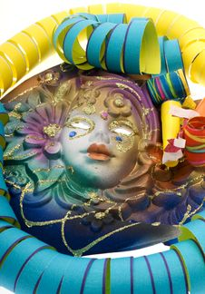 Free Carnival, Mask Venetian Royalty Free Stock Images - 8301909