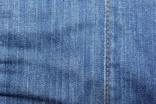 Free Blue Jeans Textile Background. Stock Photography - 8301972