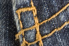 Free Blue Jeans Stock Photo - 8302000