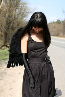 Free Angel Outdoors Royalty Free Stock Photo - 8302105