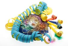 Free Carnival, Mask Venetian Stock Photography - 8302112