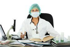 Free Hospital Work Process Royalty Free Stock Photos - 8302158