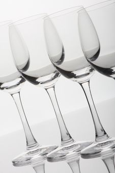 Free Wine Glasses Stock Photo - 8302170