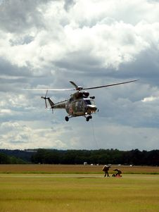 Free Rescue Helicopter Royalty Free Stock Photography - 8302187